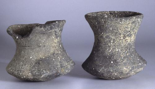 Late Bronze Age/Early Iron Age beakers.