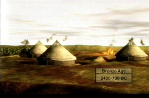 The Bronze Age settlement